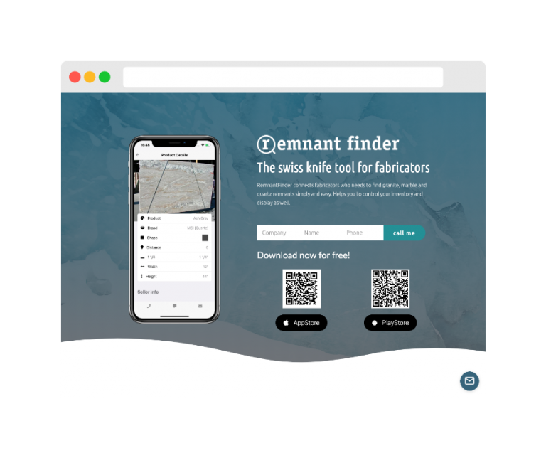 Website + App - Remnant Finder App